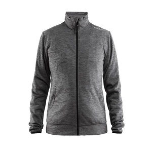 Craft Craft Leisure Jacket Full Zip dames Dark Grey Melange