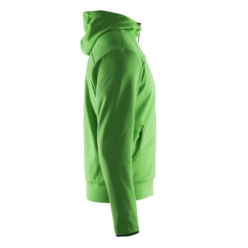 Craft Craft Leisure Hood Full Zip, heren, Craft Green