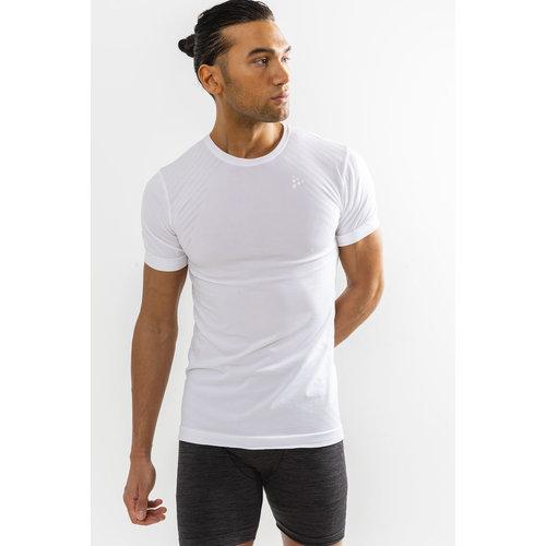 Craft Fuseknit Comfort Korte Mouw shirt heren wit