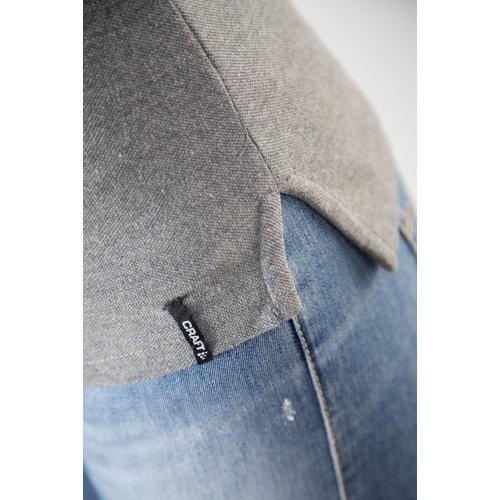 Craft Casual Polo Pique, dames, Dark Grey