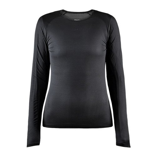 Craft Pro Dry Nanoweight LS, dames, black