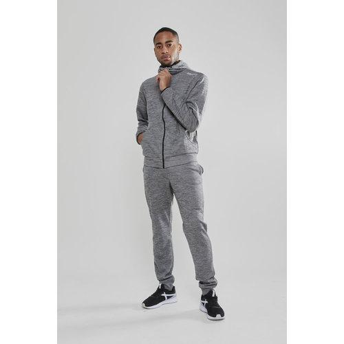 Craft Craft Leisure Hood Full Zip vest heren, drk Grey