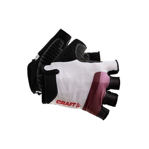 Craft Go Glove, White/Red