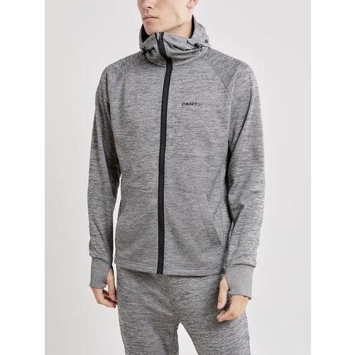Craft Craft Charge Tech Sweat Hood Jacket, heren, Dark Grey