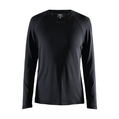 Craft ADV Essence LS Tee, dames, Black