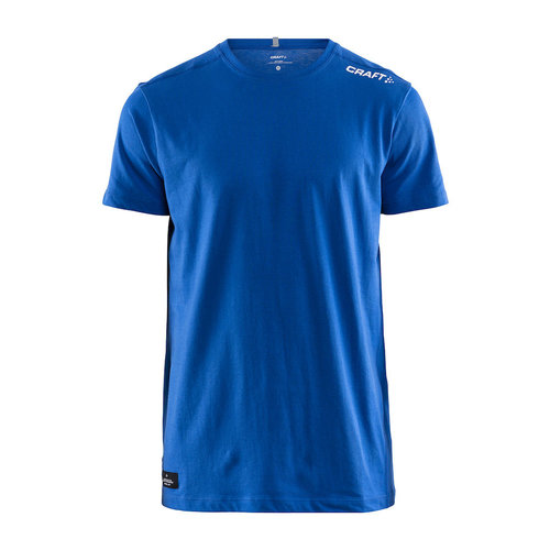 Community Mix SS Tee, heren, Royal