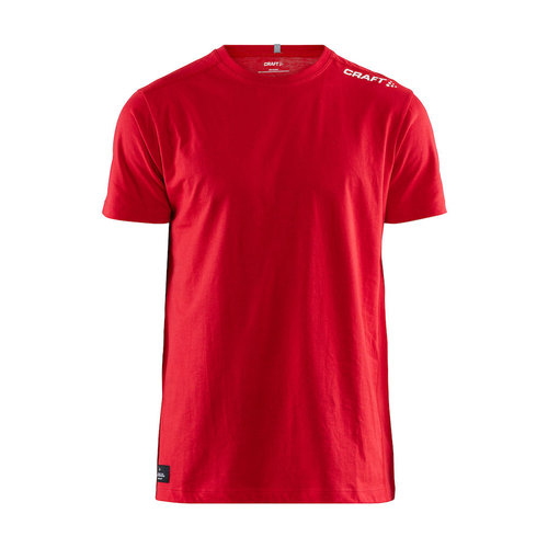 Community Mix SS Tee, heren, Red