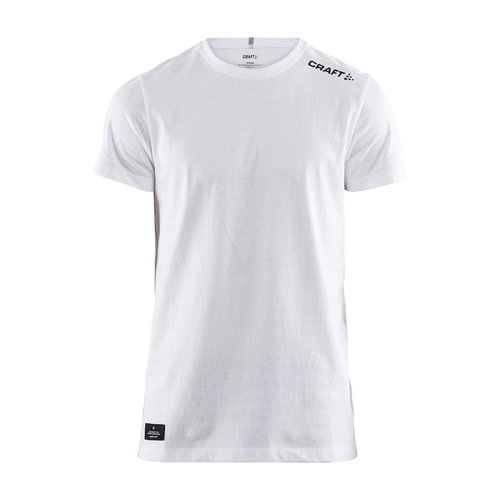 Community Mix SS Tee, heren, White