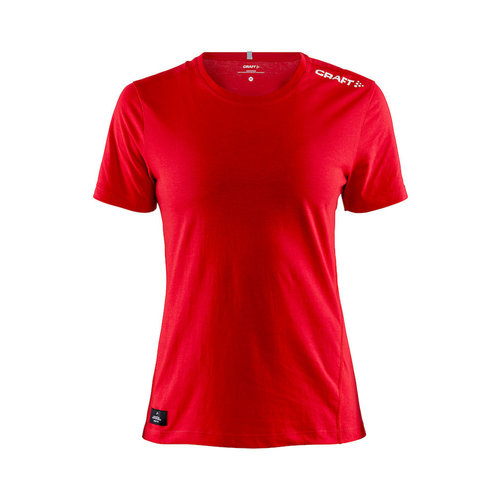 Community Mix SS Tee, dames, Red