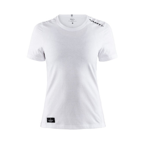 Community Mix SS Tee, dames, white