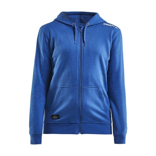 Community Full Zip Hoodie, dames, Royal