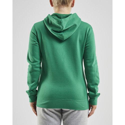 Community Full Zip Hoodie, dames, Green