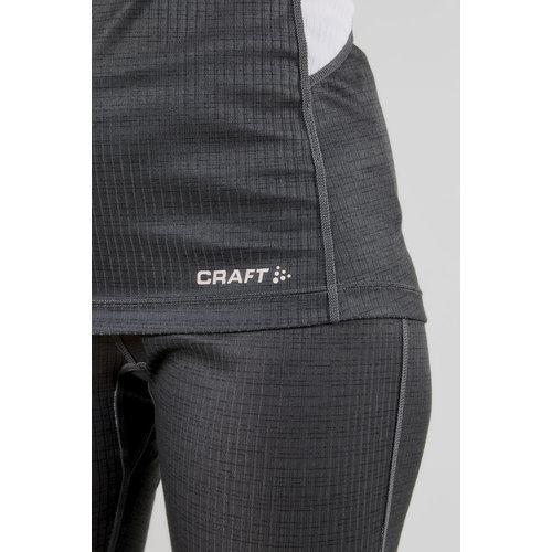 Craft Baselayer Set dames, Dark Grey/Touch