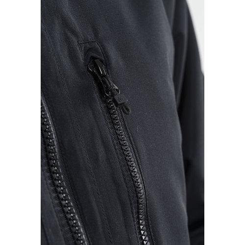 Long Parka Jacket heren,  black