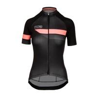 Bioracer Team Jersey Bodyfit 2.0, dames, black/pink