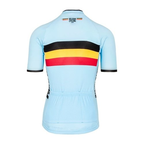 Bioracer Bioracer Belgium Short Sleeve Jersey Bodyfit 2.0