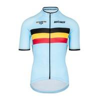 Bioracer Belgium Short Sleeve Jersey Bodyfit 2.0
