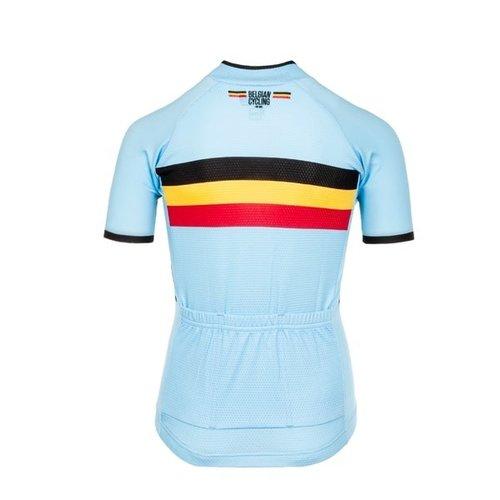 Bioracer Kids Belgium Short Sleeve Jersey 2.0