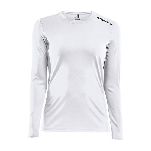 Craft Rush LS Tee, dames, white