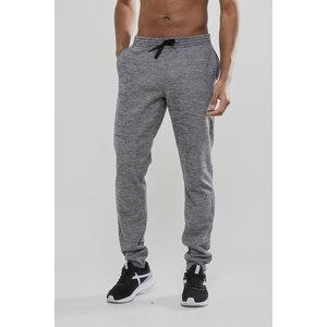 Craft Leisure Sweatpants, heren, Grey Melange
