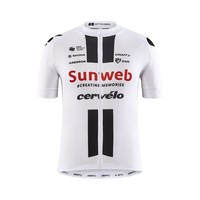 Sunweb Replica SS Bike Jersey heren, white