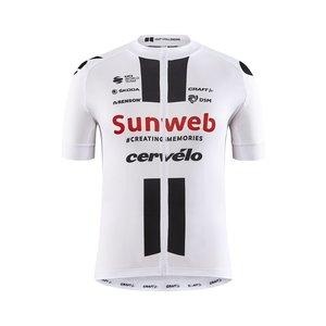 Craft Sunweb Replica SS Bike Jersey heren, white