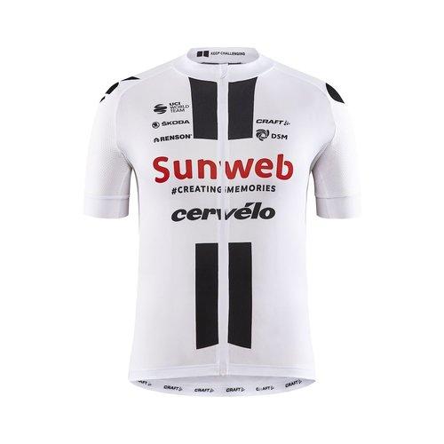Craft Craft Sunweb Replica SS Bike Jersey heren, white