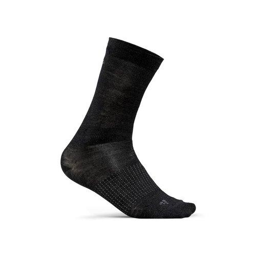 Craft Craft 2-pack Wool Liner sock, black