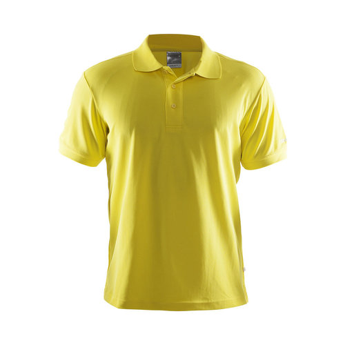 Craft Polo Pique Classic, heren, yellow