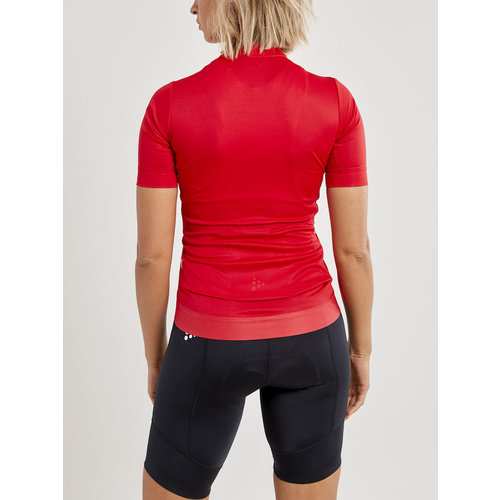 Craft Craft Essence Jersey fietsshirt, dames, Red
