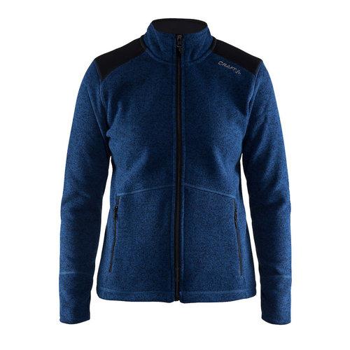 Craft Craft Noble Fleece outdoorvest, dames, blauw