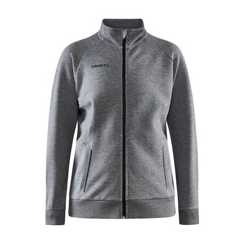 Craft Core Soul Full Zip Jacket, dames, Dark Grey Melange