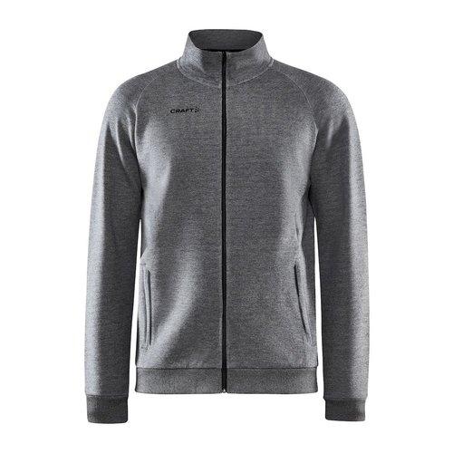 Craft Core Soul Full Zip Jacket, heren, Dark Grey Melange