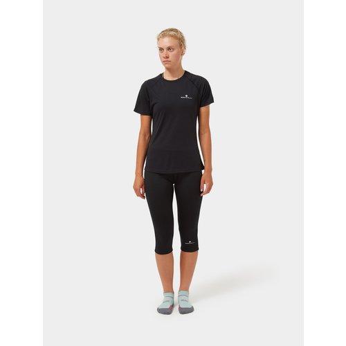 Ronhill Ronhill Core T-shirt voor dames, Core s/s Tee, black