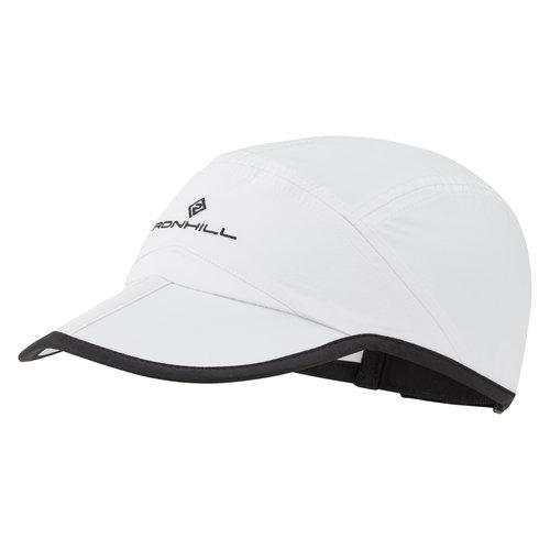 Ronhill Hardloop pet, Ronhill Sun Split Cap, wit/zwart