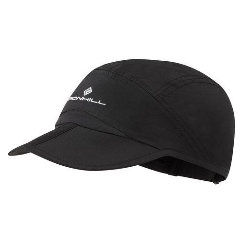 Ronhill Lichtgewicht Hardloop pet, Ronhill Sun Split Cap, zwart