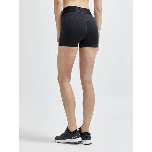 Craft Core Essence Hot pants, dames, zwart