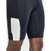 Craft Pro Hypervent short tight, heren, zwart/wit
