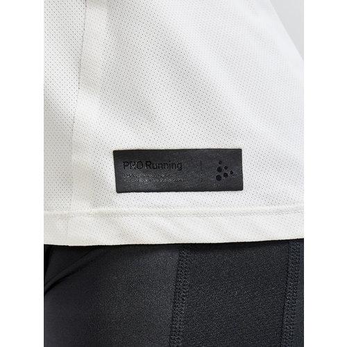 Craft Ventilerend hardloopshirt,Craft Pro Hypervent S/S Tee, dames, creme