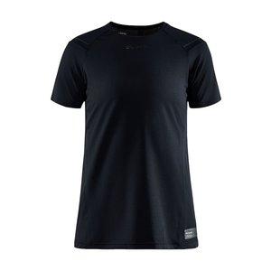 Craft Ventilerend hardloopshirt, Craft Pro Hypervent S/S Tee, dames, zwart