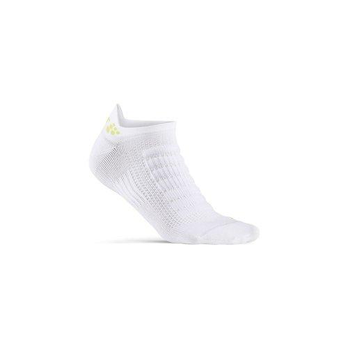Craft Zomersokken Craft Dry Shaftless Sock, wit, unisex