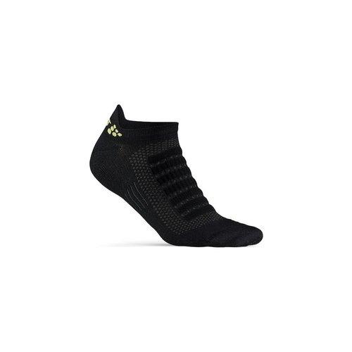 Craft Zomersokken, Craft Dry Shaftless Sock, zwart, unisex