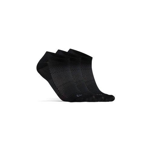 Craft Zomersokken, Craft Dry Footies 3-pack, zwart