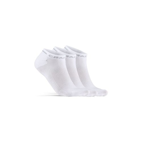 Craft Zomersokken Craft Dry Shaftless Sock 3-pack, wit