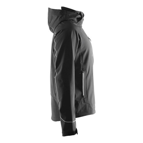 Craft Cortina Soft Shell Jack heren, black