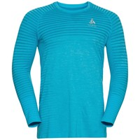 Men's Essential Seamless Running Shirt, blauw