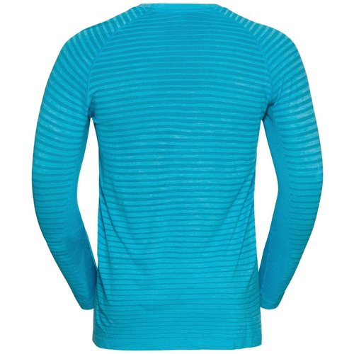 Odlo Odlo Men's Essential Seamless Running Shirt, blauw