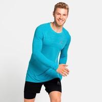 Men's Essential Seamless Running Shirt, blauw