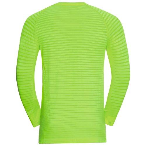 Odlo Odlo Men's Essential Seamless Running Shirt, geel