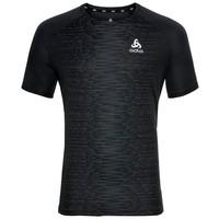 Essential Print lichtgewicht hardloopshirt, heren, zwart
